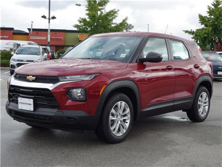 2021 Chevrolet TrailBlazer LS (Stk: 1200110) in Langley City - Image 1 of 6