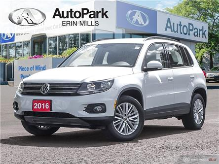 2016 Volkswagen Tiguan Special Edition (Stk: 556545AP) in Mississauga - Image 1 of 29