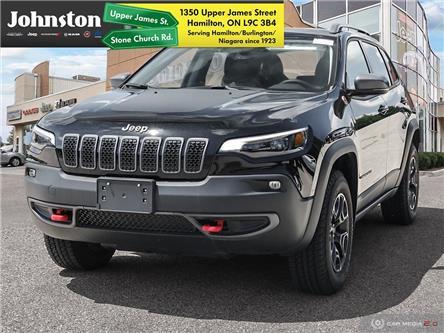 2020 Jeep Cherokee Trailhawk (Stk: L1107) in Hamilton - Image 1 of 10