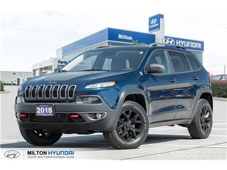 2018 Jeep Cherokee Trailhawk (Stk: 542284) in Milton - Image 1 of 23