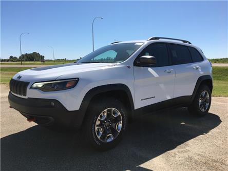 2020 Jeep Cherokee Trailhawk (Stk: 20CK9814) in Devon - Image 1 of 11