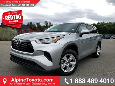 2020 Toyota Highlander LE (Stk: S515733) in Cranbrook - Image 1 of 23