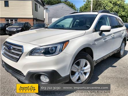 2017 Subaru Outback 2.5i (Stk: 241329) in Ottawa - Image 1 of 23