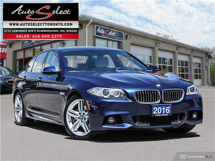 2016 BMW 528i xDrive (Stk: 1XQH3M7) in Scarborough - Image 1 of 28