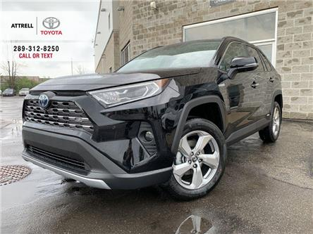 2020 Toyota RAV4 HYBRID LIMITED (Stk: 47828) in Brampton - Image 1 of 27