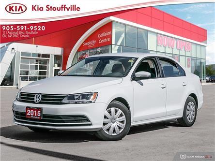 2015 Volkswagen Jetta 2.0L Trendline+ (Stk: 20112A) in Stouffville - Image 1 of 26
