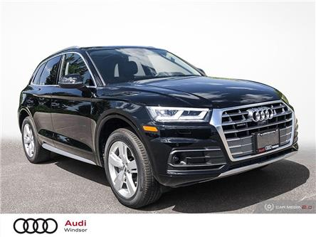 2020 Audi Q5 45 Technik (Stk: 9985) in Windsor - Image 1 of 30