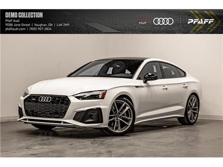 2020 Audi A5 2.0T Progressiv (Stk: T18520) in Vaughan - Image 1 of 21