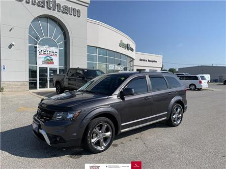 2017 Dodge Journey Crossroad (Stk: N04618A) in Chatham - Image 1 of 27