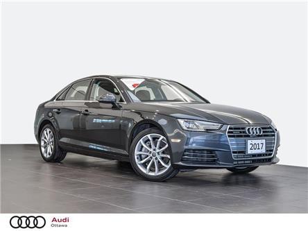 2017 Audi A4 2.0T Progressiv (Stk: PA719) in Ottawa - Image 1 of 20