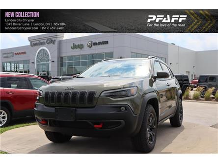 2020 Jeep Cherokee Trailhawk (Stk: LC2348) in London - Image 1 of 22