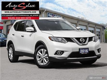 2016 Nissan Rogue SV (Stk: 1RWG211) in Scarborough - Image 1 of 28