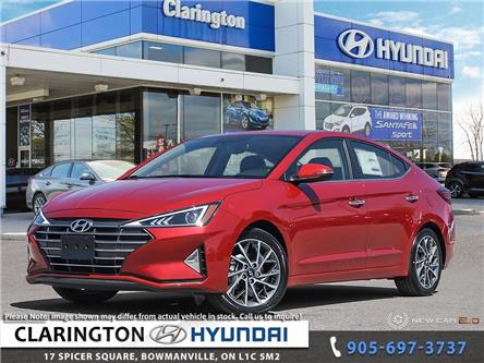2020 Hyundai Elantra Luxury (Stk: 20466) in Clarington - Image 1 of 24