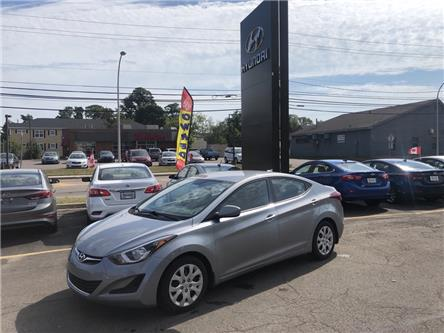 2016 Hyundai Elantra GL (Stk: N738A) in Charlottetown - Image 1 of 8