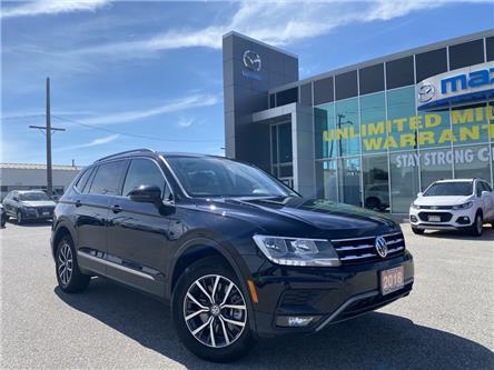 2018 Volkswagen Tiguan Comfortline (Stk: UM2443) in Chatham - Image 1 of 26