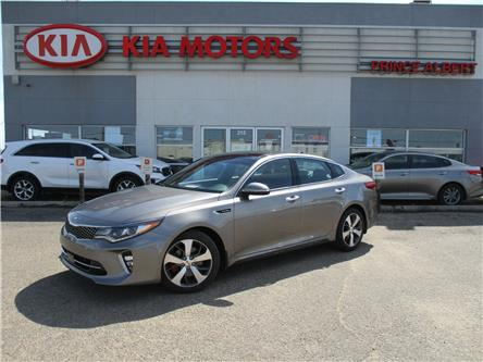 2018 Kia Optima SXL Turbo (Stk: B4128) in Prince Albert - Image 1 of 25