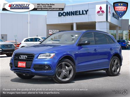 2016 Audi Q5 2.0T Technik (Stk: MU1037) in Kanata - Image 1 of 30