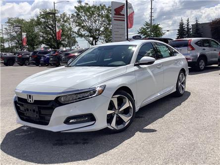 2020 Honda Accord Touring 1.5T (Stk: 201085) in Barrie - Image 1 of 22