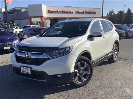 2018 Honda CR-V EX-L (Stk: U18342) in Barrie - Image 1 of 28