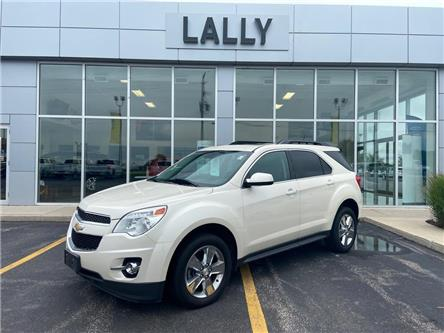 2015 Chevrolet Equinox 2LT, Leather, Roof, Heated Seats, Back-up Camera (Stk: 00123A) in Tilbury - Image 1 of 22