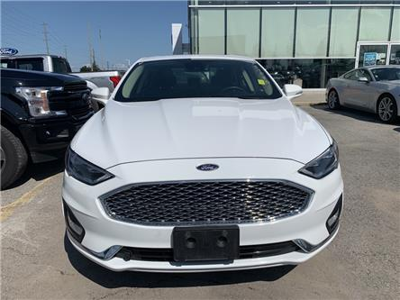 2019 Ford Fusion Hybrid Titanium (Stk: 6634R) in Barrie - Image 1 of 4