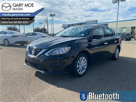 2019 Nissan Sentra 1.8 SV (Stk: MP9892) in Red Deer - Image 1 of 9