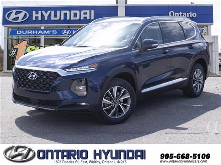 2020 Hyundai Santa Fe Preferred 2.4 w/Sun & Leather Package (Stk: 253967) in Whitby - Image 1 of 21