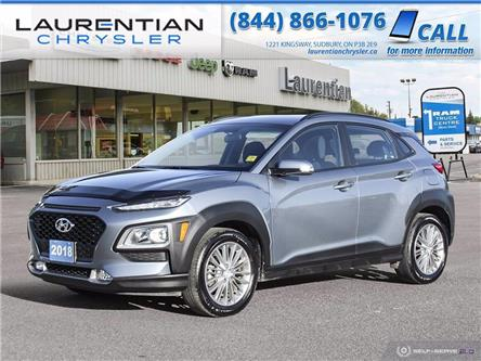 2018 Hyundai Kona 2.0L Preferred (Stk: 20239A) in Sudbury - Image 1 of 27