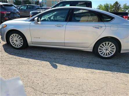 2014 Ford Fusion Hybrid SE (Stk: U0171B) in Barrie - Image 1 of 3