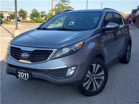 2011 Kia Sportage EX Luxury (Stk: 5487) in Mississauga - Image 1 of 27