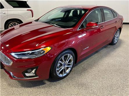 2019 Ford Fusion Hybrid Titanium (Stk: P12457) in Calgary - Image 1 of 17