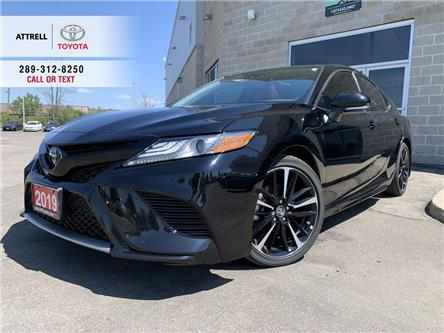 2019 Toyota Camry XSE LEATHER, PANO SUNROOF, ALLOY, SPOILER, TSS-P, (Stk: 9140) in Brampton - Image 1 of 25