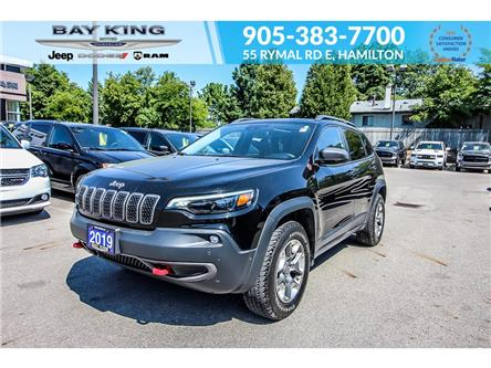 2019 Jeep Cherokee Trailhawk (Stk: 207613A) in Hamilton - Image 1 of 28