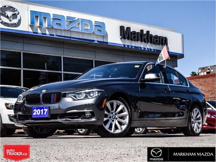 2017 BMW 330i xDrive (Stk: D52000410A) in Markham - Image 1 of 27