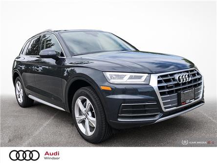 2020 Audi Q5 45 Progressiv (Stk: 9989) in Windsor - Image 1 of 30