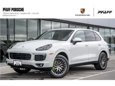2018 Porsche Cayenne S e-Hybrid Platinum Edition (Stk: PD12272) in Vaughan - Image 1 of 22