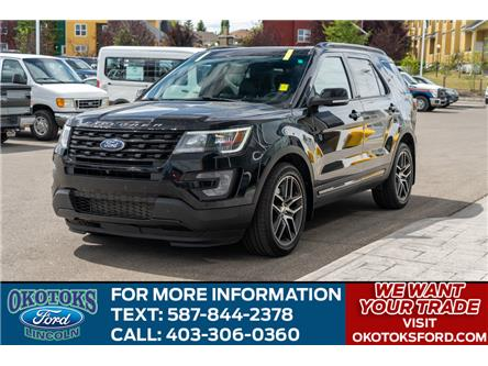 2017 Ford Explorer Sport (Stk: B81696) in Okotoks - Image 1 of 24
