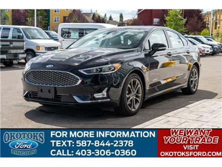 2019 Ford Fusion Hybrid Titanium (Stk: B81705) in Okotoks - Image 1 of 26