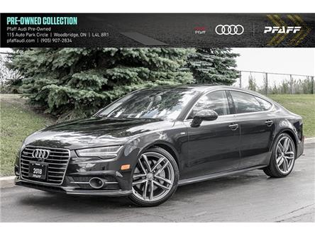 2018 Audi A7 3.0T Technik (Stk: C7763) in Woodbridge - Image 1 of 22