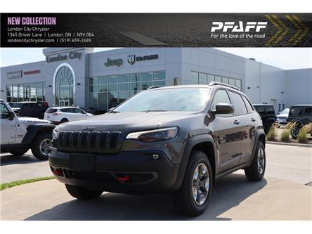 2020 Jeep Cherokee Trailhawk (Stk: LC2697) in London - Image 1 of 22