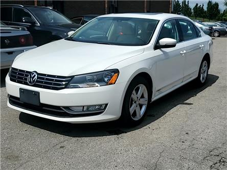 2013 Volkswagen Passat 2.0 TDI Comfortline (Stk: V098687) in Kitchener - Image 1 of 27
