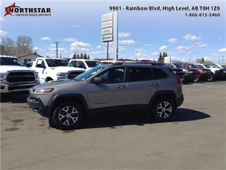 2017 Jeep Cherokee Trailhawk (Stk: ST070A) in  - Image 1 of 9