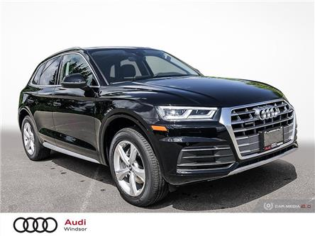 2020 Audi Q5 45 Progressiv (Stk: 9996) in Windsor - Image 1 of 30