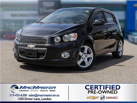 2014 Chevrolet Sonic LT Auto (Stk: 200647A) in London - Image 1 of 10
