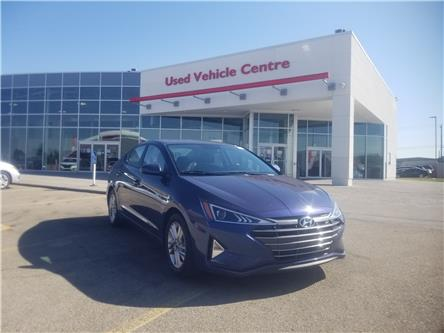2019 Hyundai Elantra Preferred (Stk: U204198) in Calgary - Image 1 of 24