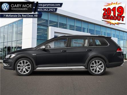 2019 Volkswagen Golf Alltrack 1.8 TSI Execline (Stk: 9GF1909) in Red Deer County - Image 1 of 2