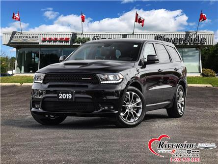 2019 Dodge Durango R/T (Stk: U09005) in Cornwall - Image 1 of 30