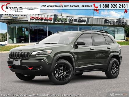 2020 Jeep Cherokee Trailhawk (Stk: N20068) in Cornwall - Image 1 of 23