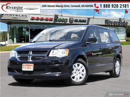 2018 Dodge Grand Caravan CVP/SXT (Stk: V07001) in Cornwall - Image 1 of 27