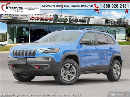 2020 Jeep Cherokee Trailhawk (Stk: N20069) in Cornwall - Image 1 of 23
